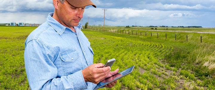 Multitasking Farmer